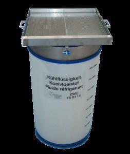 200 Liter Kuehlfluessigkeitsfass mit Zubehör