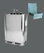 Altöl - Tank mit Einfülltrichter (für 1.000 Liter)